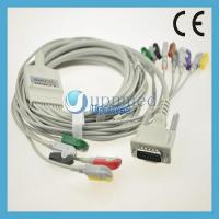 Best Schiller EKG cable with 12 leadwires,clip type,U225-11CI wholesale