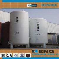 China 20m3 liquid oxygen tank on sale