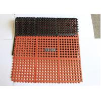 Slip resistant safety kitchen rubber flooring mat
