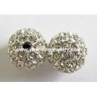 China CP5001 Alloy Crystal Pave Beads on sale