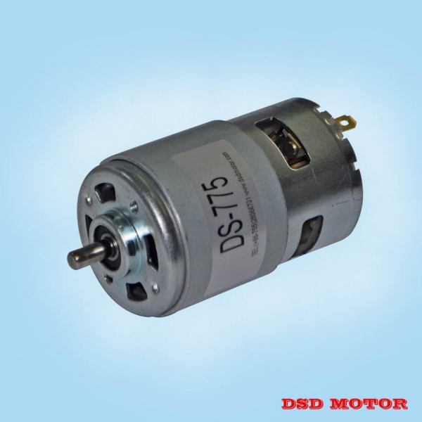Details Of Ds 775 High Power High Torque Electric Dc Motor
