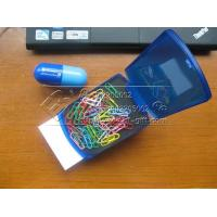 Automatic popup note box paper clips The exhibition presents