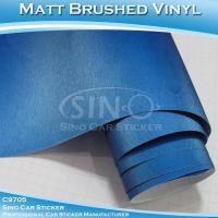 Best Brushed Pearl Blue Car Wrap Vinyl Roll wholesale