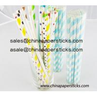 Quality Paper drinking straws wholesale