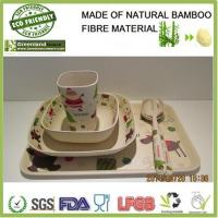 Best Christmas's series bamboo fibre resturant and home dinner set wholesale