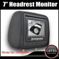 Best 7 inch car headrest TV monitors / car backseat monitors for back seat entertainment system CH7018H wholesale