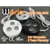 Best WD-300A 12V 3W LED Cabinet Light / LED Puck Light with CE cUL UL Certified wholesale