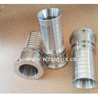 Best Stainless Steel Fitting Pipe CNC Machine Parts Hose Nipple wholesale