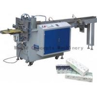 China Semi-auto Tissue Handkerchief Middle Packing Machine on sale