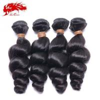 Best Ali Queen 4pcs Unprocessed India Loose Wave Natural Color Cheap Real Hair Extensions Free Shipping wholesale