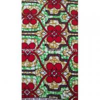 China 100% Cotton Real Wax Fabric for African Super Wax 100% Cotton Fabric for African on sale