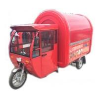 China Electric Motor Mobile Food Cart with Cab on sale