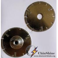 Buy cheap Electroplated diamond circular blade from wholesalers