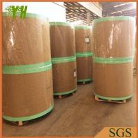 China Recycled White Clay Coated Grey Paper on sale