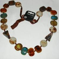 Quality Carolee Neutral Ground Mixed Stone Necklace wholesale
