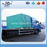 Buy cheap High Quality Waterproof UV-protection PVC Tarpaulin Pallet Cover from wholesalers