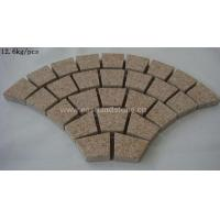 TILES AND SLABS—MATERIALS G682 RADIUS COBBLE WIT...
