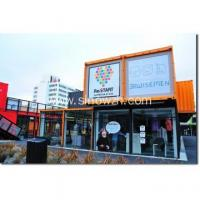 Prefabricated house for container shopping center