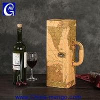 Best PU Leather Wine Box Wine Bag Wine Carrier wholesale