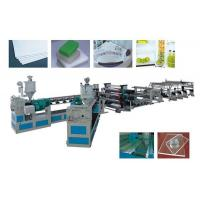 China High Efficiency Single Screw Extruder ABS,HIPS,PMMA, Single Or Multi-Layer Plate Extrusion Line on sale