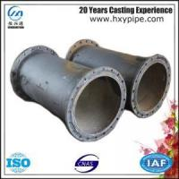 ISO2531 Nodular Iron Double-Flanged Pipe Water Supply Project Use