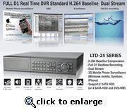 Best 16 Channel DVR Full D1 Real Time H2.64 Dual Stream W/1TB HDD wholesale