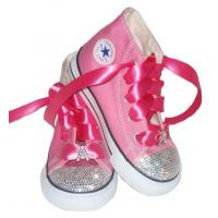 Best Swarovski Personalized Initial Converse Shoes wholesale