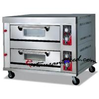 Best K183 2-Layer 4-Tray Gas Pizza Oven +86 20-34709971 wholesale