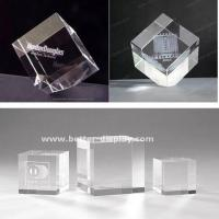 Cosmetic Display Crystal Paperweight