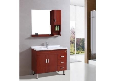 Details of free standing one piece vanity top curved for L shaped bathroom vanity for sale