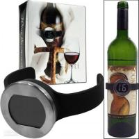 China Wine Collar Bottle Thermometer on sale