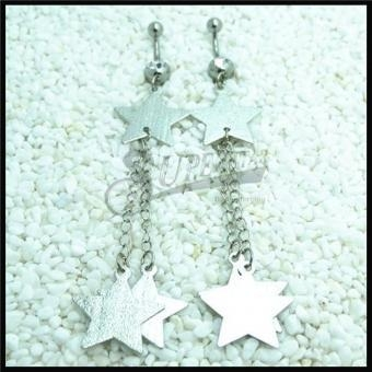 China Star Dangle Belly Ring