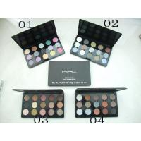 Best MAC Famous cosmetics brand 15 colors eyeshadow makeup Product No.:58524 wholesale