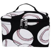Best Baseballs on Black Cosmetic Pouch wholesale
