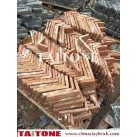 Quality old red clay corner bricks wholesale