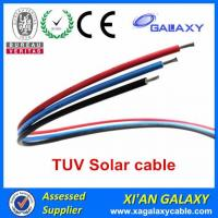 Best China Tinned Copper Conductor XLPE Insulation & Sheath TUV Solar Cable 4mm2 wholesale