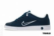 Cheap Cheapest Nike Court Tradition II Obsidan/Obsidan-Summit White-White Outlet KA701556 for sale