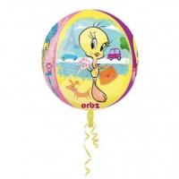 Best Licensed Characters Orbz Tweety Foil Balloon G40 Packaged 43 x 45 cm wholesale