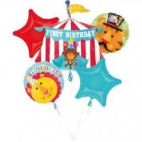 Best Bouquet Fisher-Price 1st Birthday Circus Foil Balloon P75 Packaged wholesale