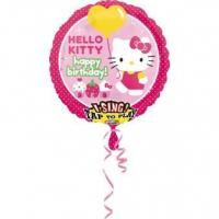 Best Licensed Characters Sing-A-Tune Hello Kitty Birthday Foil Balloon P75 Packaged 71 x 71 cm wholesale