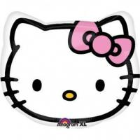 Best Licensed Characters JuniorShape Hello Kitty Head Foil Balloon S60 Packaged 43 cm wholesale