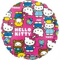 Best Licensed Characters Standard Hello Kitty Characters Foil Balloon S60 Packaged 43cm wholesale