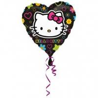 Best Licensed Characters Standard Hello Kitty Tween Heart Foil Balloon S60 Packaged 43 cm wholesale