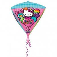 Best Licensed Characters Diamondz Hello Kitty Foil Balloon G40 Packaged 38 x 43 cm wholesale