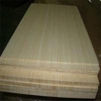 Best Natural Colour and Vertical Pressed Bamboo Slabs as Furniture Facing wholesale