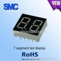 Best white color 2 digit led display 7 segment led display 0.8 inch wholesale