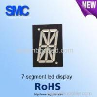Best 1.0 inch red color 1 digit led display for different uses/7 segment led display wholesale