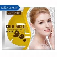 Best CU-0011 MON'SUB Gold Facial Crystal Collagen Mask wholesale