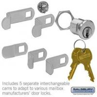 Best Salsbury Universal Lock - for 4B+ Horizontal and Vertical Style Mailbox Door - with (2) Keys wholesale