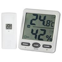 Best 8 Channel Wireless Thermometer/Hygrometer with Jumbo LCD wholesale